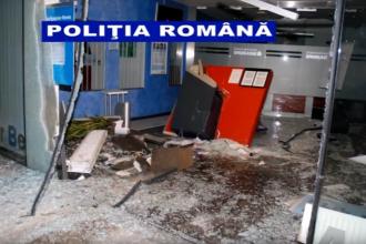 Poliţia a descoperit o reţea de români care jefuiau bancomate în Austria aruncându-le în aer