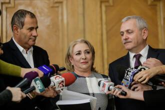 Dragnea: O felicit pe Dăncilă pentru cum rezistă la atacuri, să nu aibă probleme cu coloana