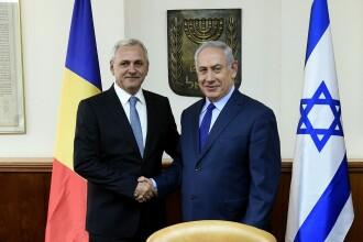 România, prima ţară din Europa care-şi mută ambasada din Israel la Ierusalim. Anunţul a fost făcut de Dragnea