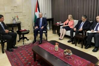 Autoritatea Palestiniană solicită României să nu-și mute ambasada la Ierusalim