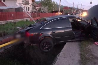 Pericol de explozie într-o comună din Argeş: O maşină a avariat o ţeavă de gaze
