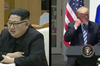 Avertismentul lansat de Donald Trump înainte de întâlnirea cu Kim Jong-un