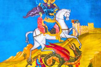 Ortodocşii îl sărbătoresc luni pe Sfântul Mare Mucenic Gheorghe, purtătorul de biruinţă