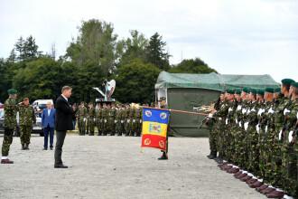 """Președintele Klaus Iohannis: """"România are nevoie de o armată puternică"""""""