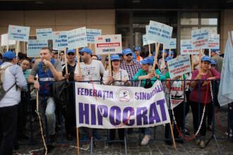 """Federaţia Sindicală Hipocrat, semnal de alarmă privind Legea salarizării: """"Au luat de la unii ca să dea altora"""""""
