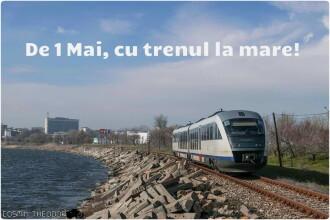 CFR anunţă suplimentarea trenurilor spre Litoral şi Valea Prahovei pentru minivacanţa de 1 Mai