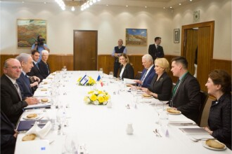 Dăncilă, întâlnire cu premierul israelian. Ce a spus Netanyahu despre mutarea ambasadei la Ierusalim
