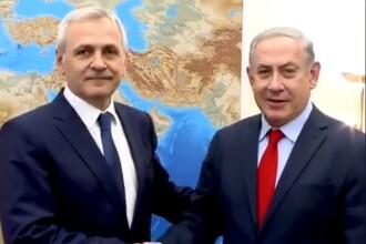 Comentariile românilor la filmulețul postat pe Facebook de premierul israelian cu Dragnea