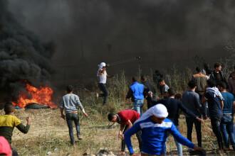 Încă trei palestinieni au fost ucişi în Fâșia Gaza în confruntările cu armata israeliană