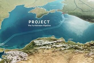 Gazprom a finalizat secţiunea subacvatică a primei conducte TurkStream, în Marea Neagră