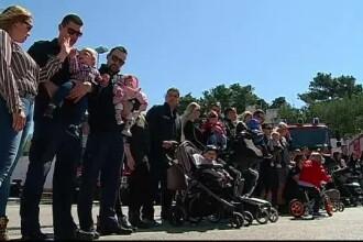 """""""Baby boom"""" printre pompierii din orașul croat Split. 12 angajați au devenit părinți într-un an"""