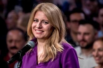 Zuzana Caputova va fi prima femeie şef de stat în Slovacia