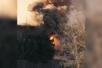 Pană masivă de curent în Brașov, după un incendiu la un transformator