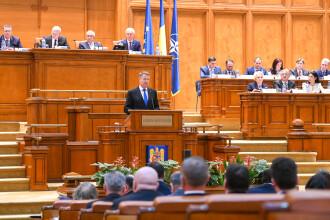 Scrisoarea lui Iohannis privind referendumul, trimisă pentru raport la Comisiile juridice