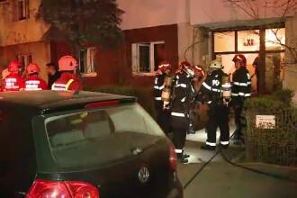 Bărbat rănit după ce a sărit pe fereastră ca să scape dintr-un incendiu