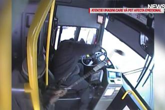 Motivul pentru care un șofer de autobuz atacat de un călător a fost concediat