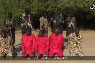 Boko Haram a publicat o înregistrare cu execuția unor ostatici nigerieni