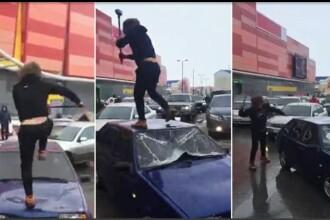 Cum s-a răzbunat un rus pe un șofer care a lăsat mașina în drum. VIDEO