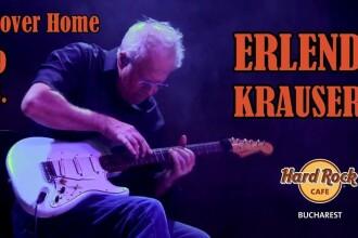 Erlend Krauser, chitaristul trupei fenomen Phoenix, se întoarce în București după 45 de ani