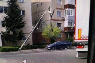"""Noi probleme cu cablurile aeriene în Timișoara. Robu: """"Poate acum înţeleg şi imbecilii"""""""