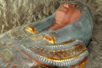 Premieră în istoria televiziunii. Sarcofag misterios, de 3000 de ani, deschis LIVE la TV