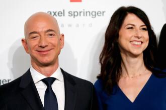 MacKenzie Bezos. Divorțul o duce pe locul trei în clasamentul celor mai bogate femei