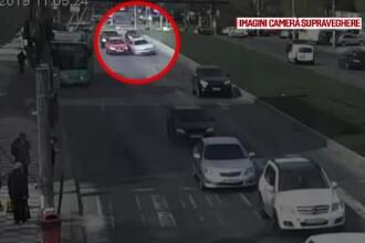 Momente jenante pentru un șofer de 23 de ani, care s-a crezut pilot pe BMW prin Galați