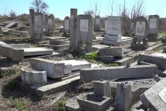 Autorii vandalizării cimitirului evreiesc din Huși, identificați cu ajutorul camerelor