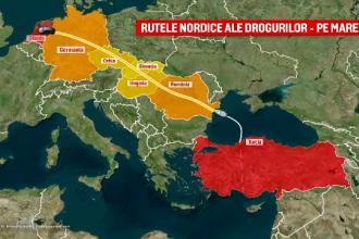 Cocaină în Marea Neagră. Cum a ajuns România un punct cheie pentru traficanţii de droguri
