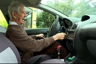 Motivul pentru care un bărbat șofează la 99 de ani. Care e regula sa de aur