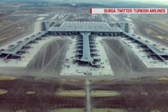 Noul aeroport din Istanbul, dat în folosință. Ar putea gestiona 2.000 de zboruri pe zi