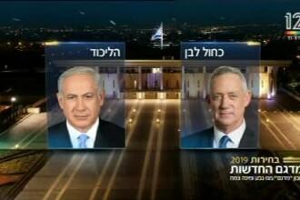 Alegeri în Israel. Benjamin Netanyahu și Benny Gantz se declară câștigători