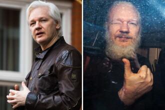"""Reacția lui Julian Assange, acuzat că ar fi murdărit pereţii ambasadei cu """"excremente"""""""