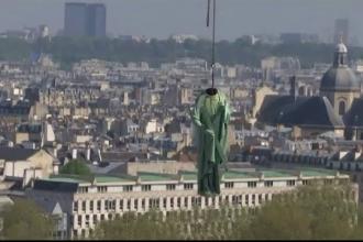 """Motivul pentru care 16 statui celebre din Paris au fost """"decapitate"""""""