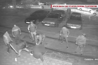 Primele măsuri luate în cazul tânărului bătut și călcat în picioare de 16 taximetriști