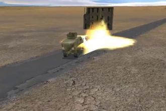 Animație grafică. Cum s-a produs atacul în care 4 militari români au fost răniți în Afganistan