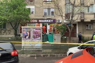 Femeie înjunghiată într-un magazin din Capitală de fostul partener, care apoi s-a sinucis