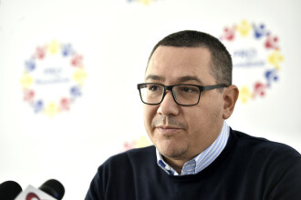 Ponta: Pro România nu va susține moțiunea de cenzură împotriva PSD
