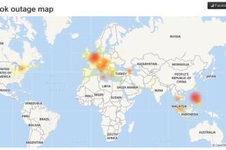 Facebook, Instagram și WhatsApp au picat în mai multe țări