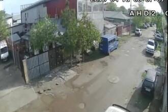 Momentul în care un om de afaceri din Brăila e jefuit de 500.000 de lei