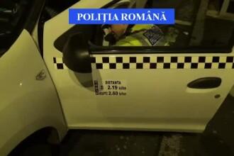 Razie printre taximetriștii din Brașov. Șoferi prinși fără ceas sau că refuză cursele
