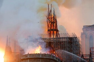 Peste 160 de copii au un nivel ridicat de plumb în sânge, după incendiul de la Notre Dame