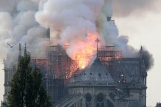 """Notre Dame ar putea fi refăcută cu o imprimantă 3D. """"Conservăm sufletul edificiului"""