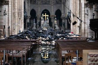 """Incendiu de la Notre Dame. Ce spun anchetatorii despre ipoteza unei """"mâini criminale"""""""