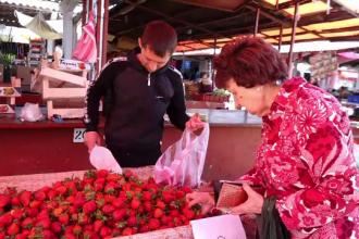 România, invadată de căpşunile turceşti ieftine.