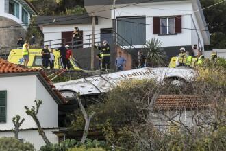 Accident de autobuz cu 28 de morţi, în Portugalia. Vehiculul s-a prăbuşit peste case