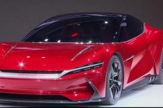 Mașini electrice spectaculoase la Salonul Auto de la Shanghai