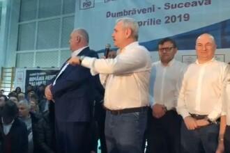 """Dragnea: """"Ce am făcut noi?""""; Bărbat: """"Nimic"""". Liderul PSD s-a enervat brusc. VIDEO"""