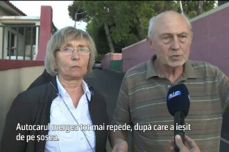 """Mărturia unui cuplu din """"autobuzul groazei"""" din Madeira. Gestul care i-a salvat"""