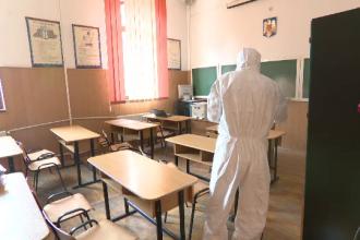 61 de elevi și 10 profesori ai Liceului Gheorghe Lazăr, testaţi. Ce s-a descoperit la un elev